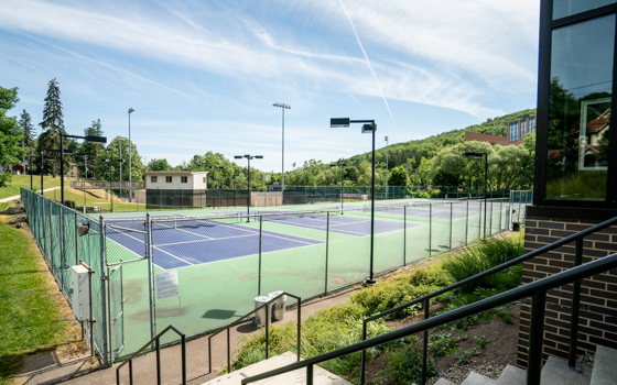 William T. Brown Tennis Courts