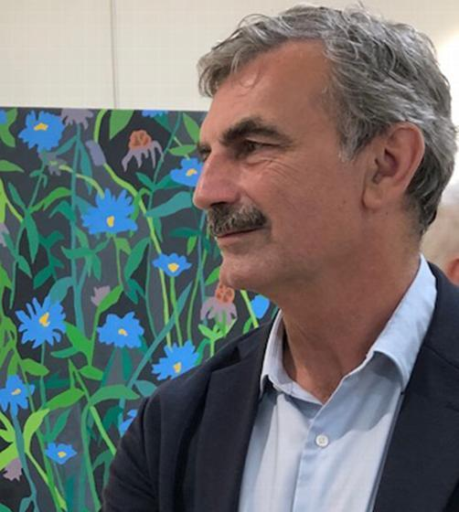 Kevin Wixted, professor of drawing and painting