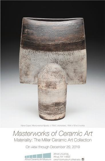 Masterworks from Miller Collection on view at Alfred Ceramic Art Museum press release image