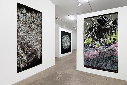 Nancy Agati's Undercurrent series, at the Shrine gallery in New York City.