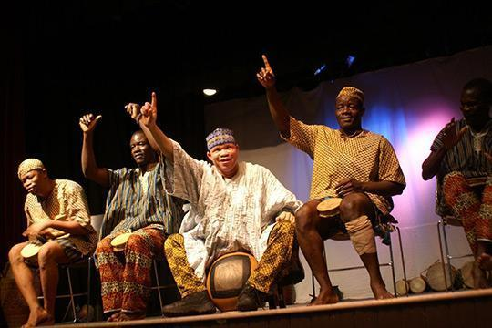 Alfred University will host a four-day residency of the Saakumu Dance Troupe.