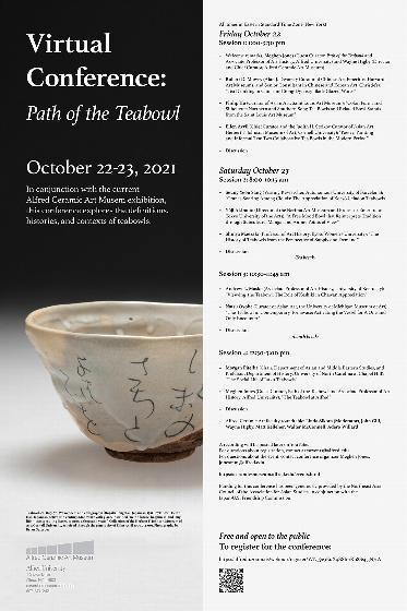 Alfred University to host 'Path of the Teabowl' conference Oct. 22-23 press release image