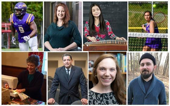 Voices of Alfred University: Students, faculty continue their stories of an extraordinary year press release image
