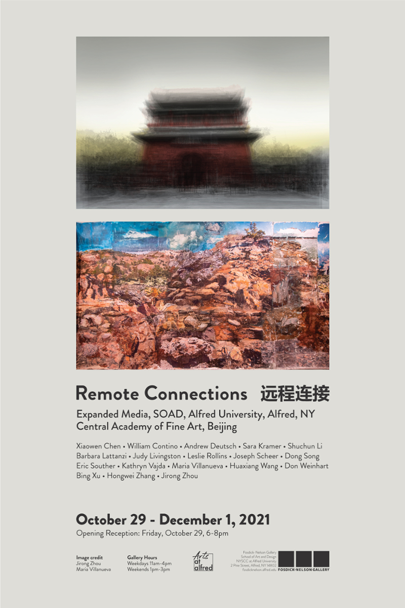 Remote Connections Poster