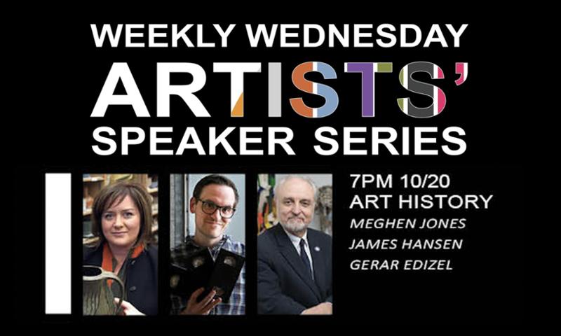 Weekly Wednesday Speaker Series Poster