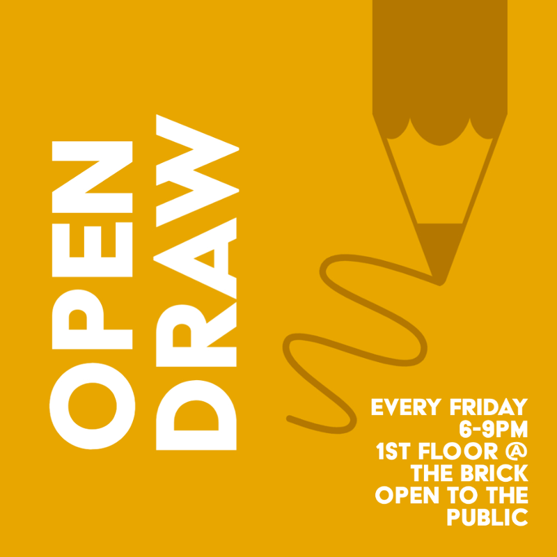 Open Draw Poster